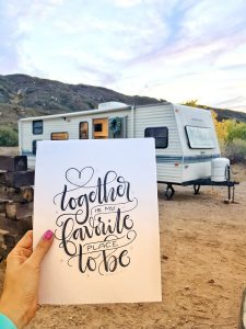 Check out the before pictures of this beautiful modern farmhouse inspired RV remodel