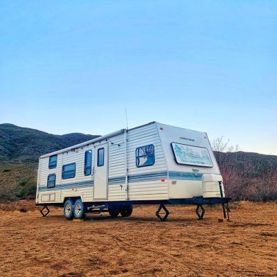 The HowJoyful camper – Before pictures