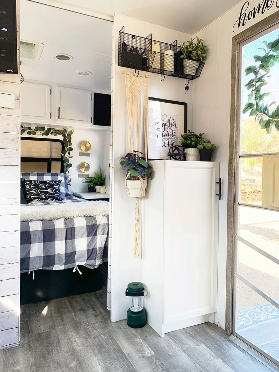 Renovated entry camper