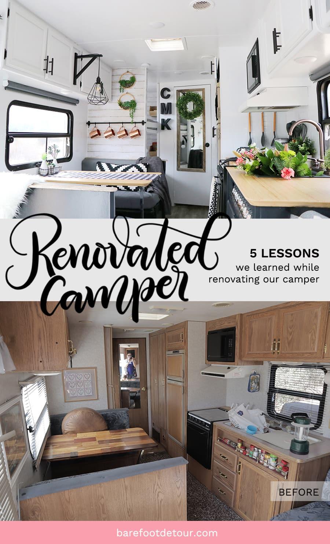 Camper RV trasformation