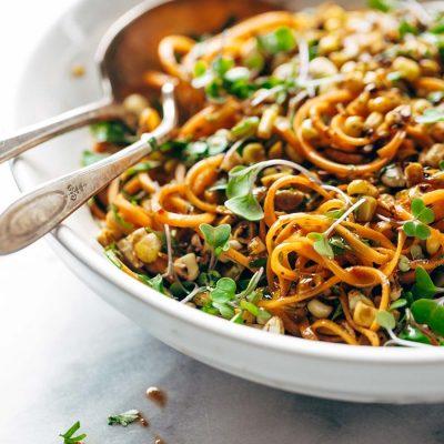 16 delicious veggie pasta (spiralizer recipes & tips)