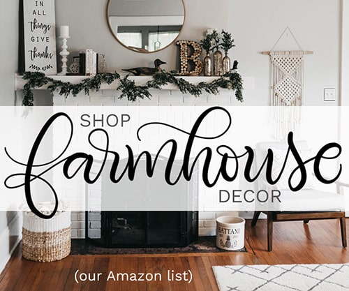 Farmhouse decor at Amazon