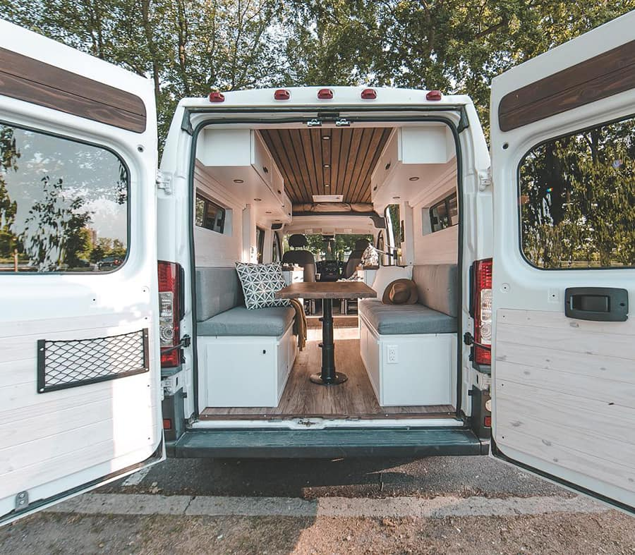 vanlife interior