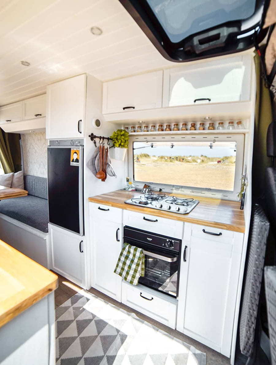 vanlife kitchen
