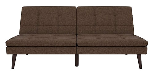 brown sofa bed for rv