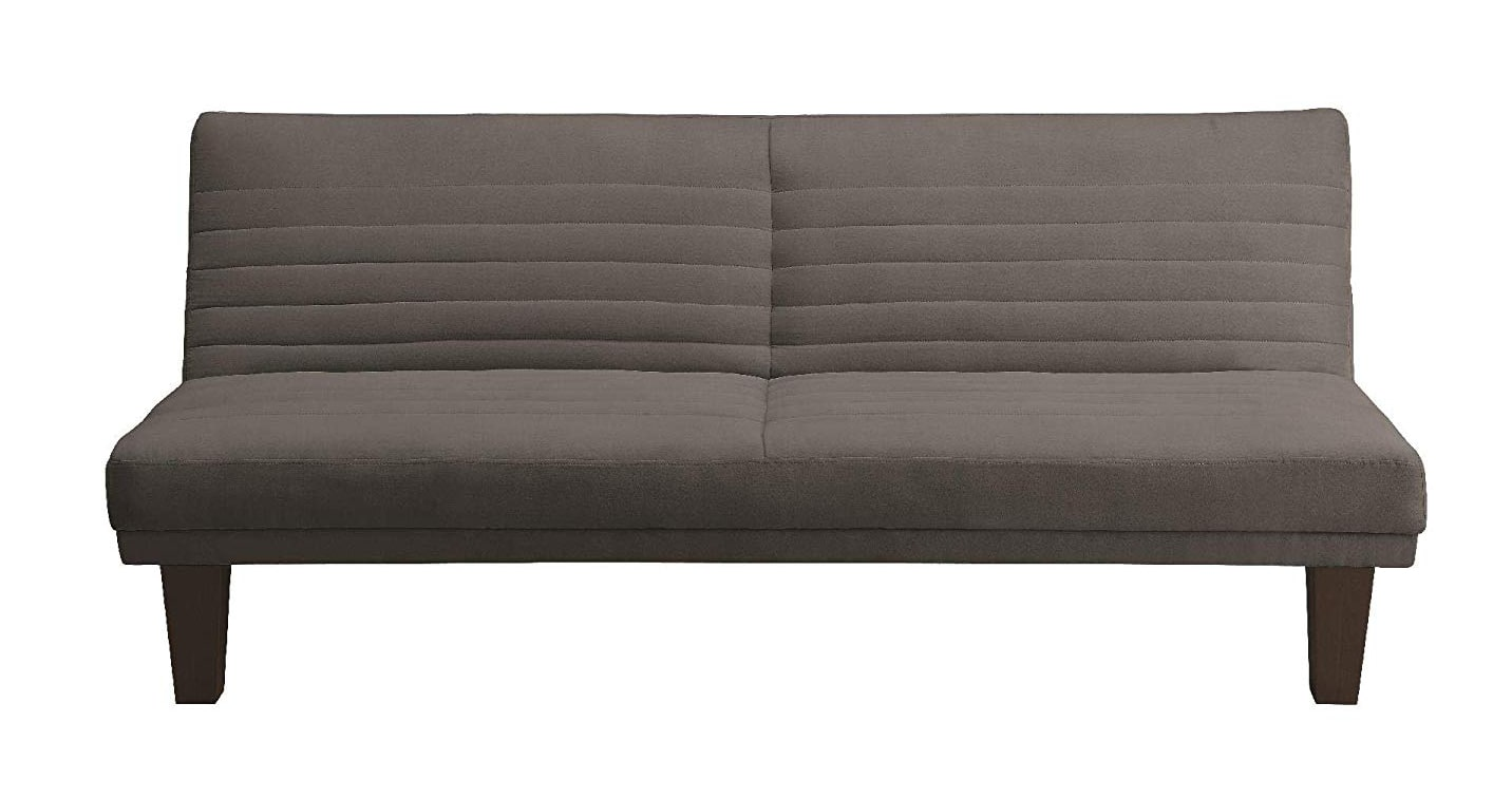 grey rv futon