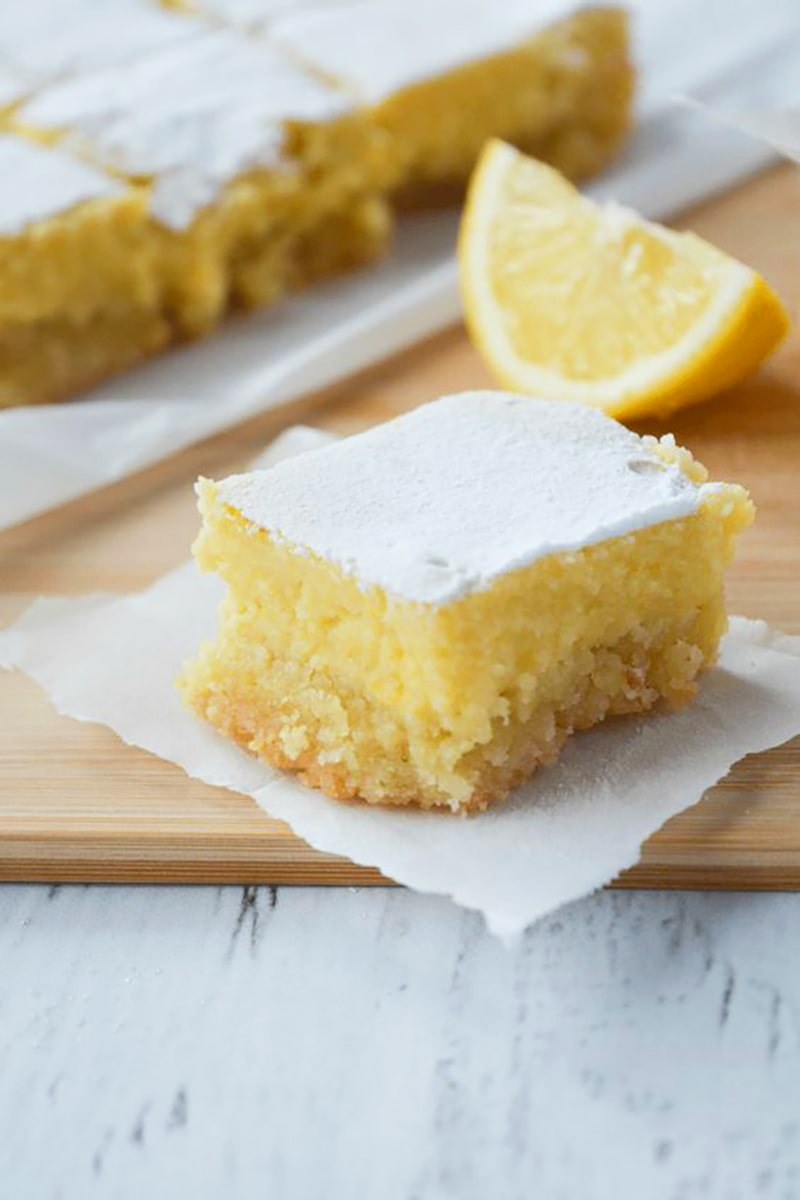 keto lemon bars