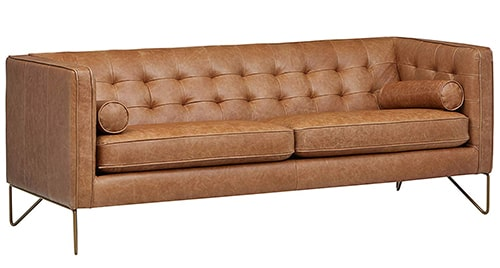 leather couch for rv