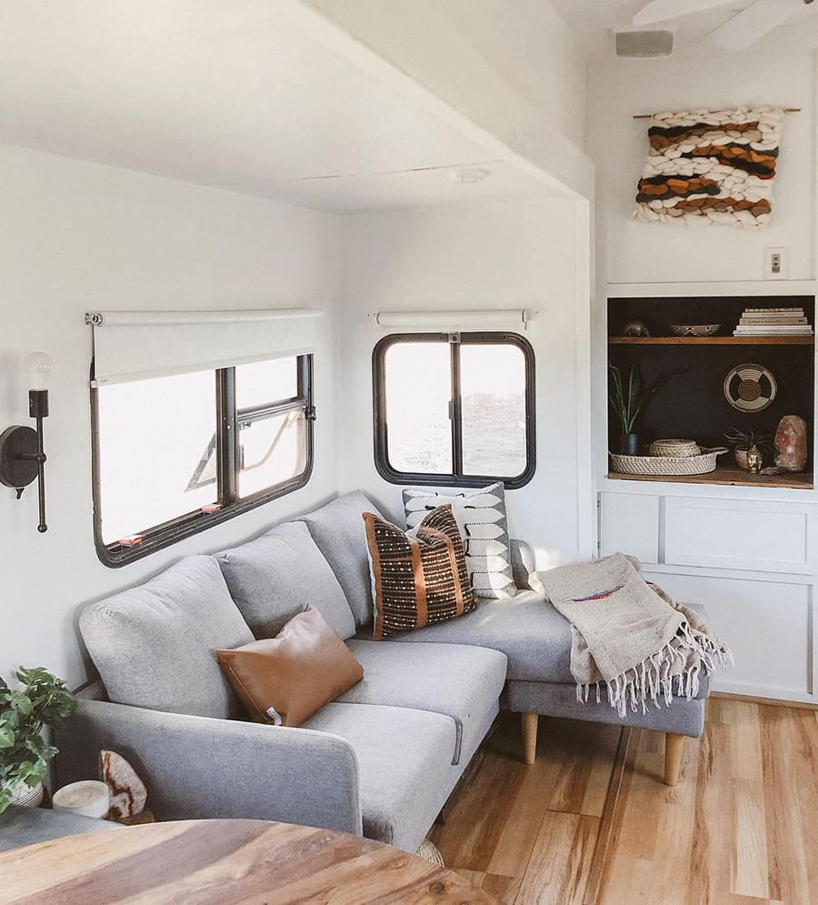 sectional sofa in rv