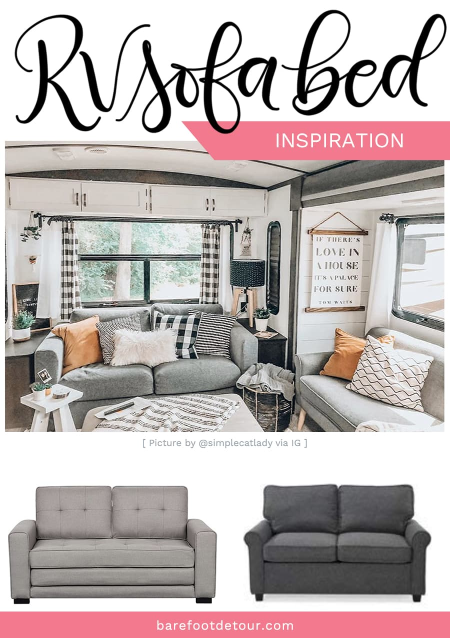 rv sofa inspiration for remodel