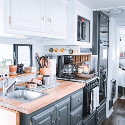 Tour this Midcentury/Boho RV – The ramblr RV tour feature