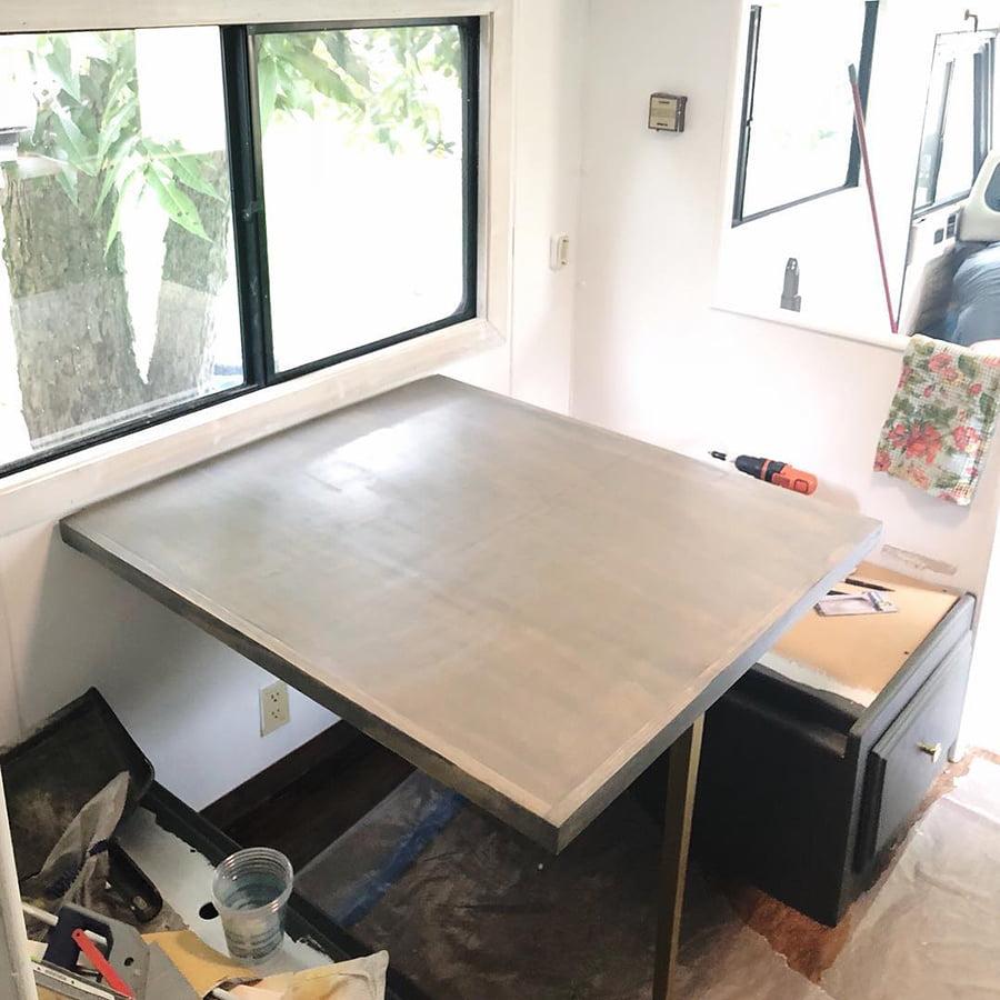 in progress table for rv
