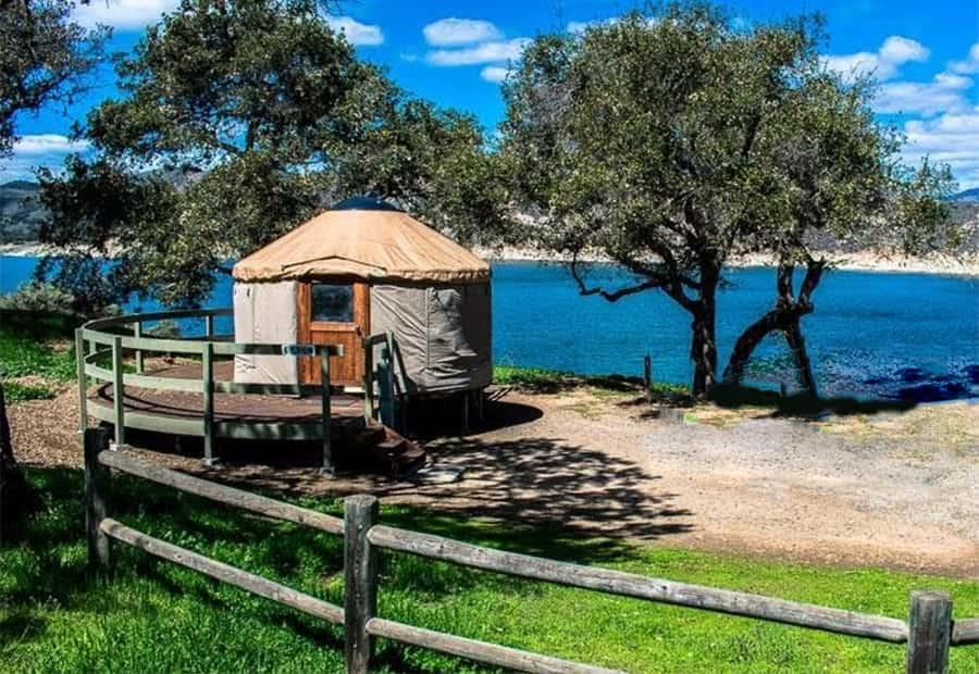 cachuma California yurts
