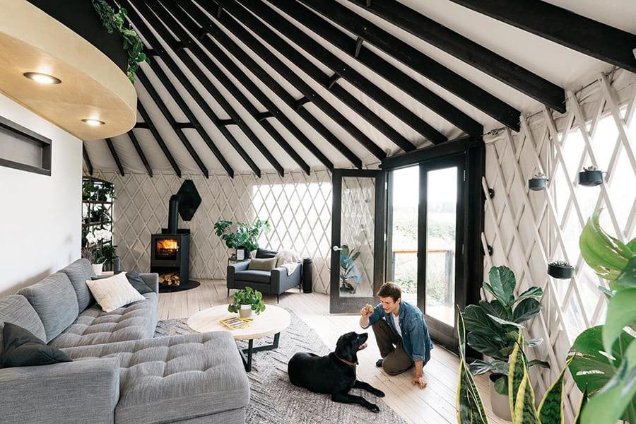 yurt couch