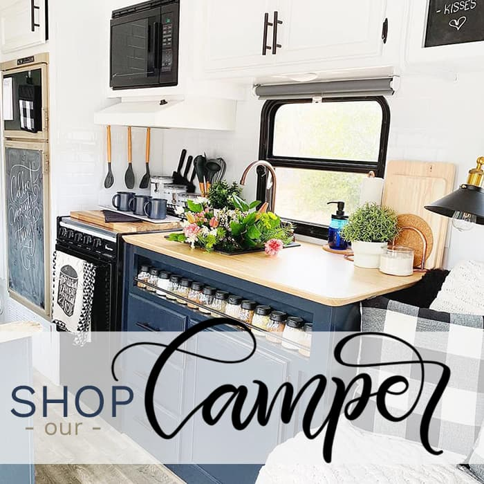 Farmhouse inspired RV at Amazon