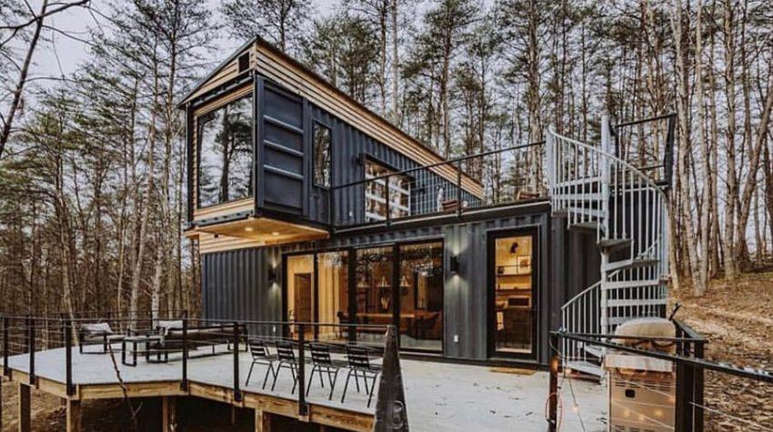 modern farmhouse container