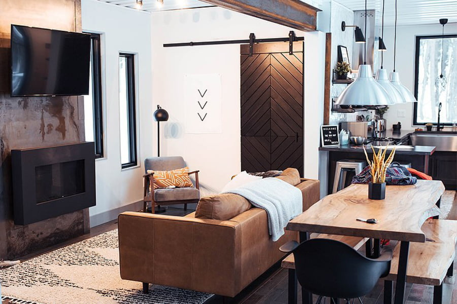 boho livingroom