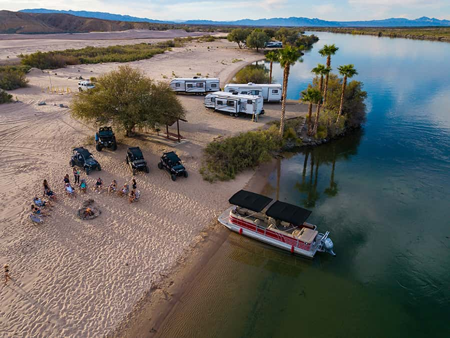 rv camping pirates cove