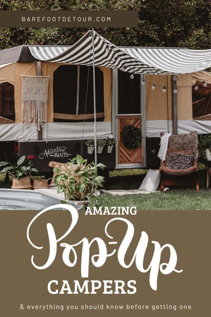 popup tent camper