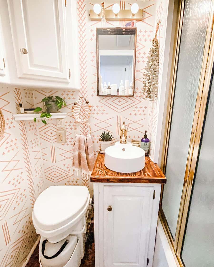 rv bathroom remodel