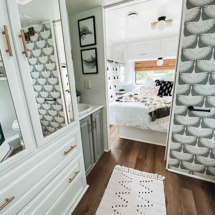 rv bathroom modern ideas reno