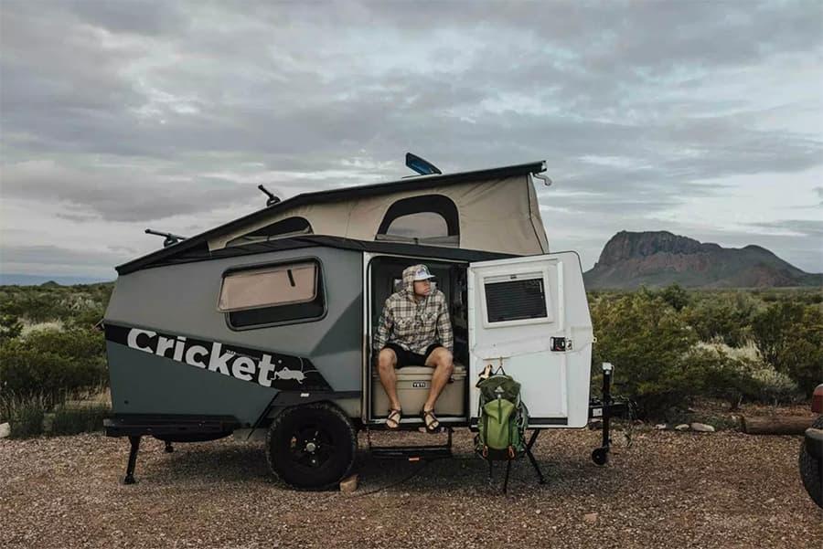 taxa cricket teardrop camper trailer