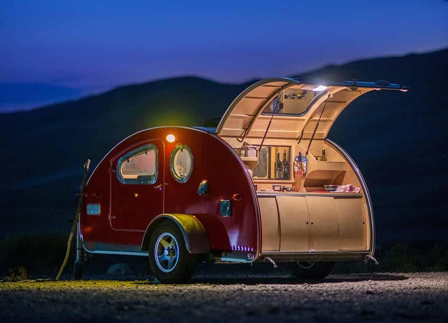 details of vistabule camper