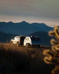 vistabule on the road teardrop camper