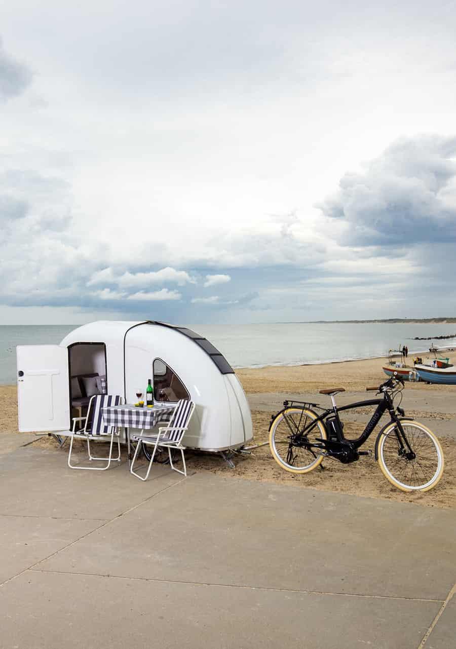 wide path camper set up