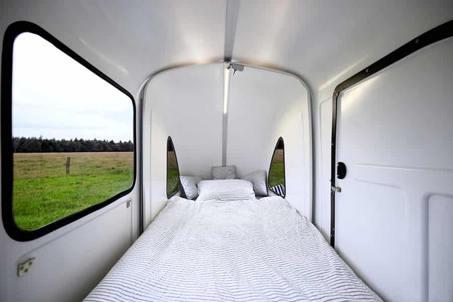 wide path camper bed