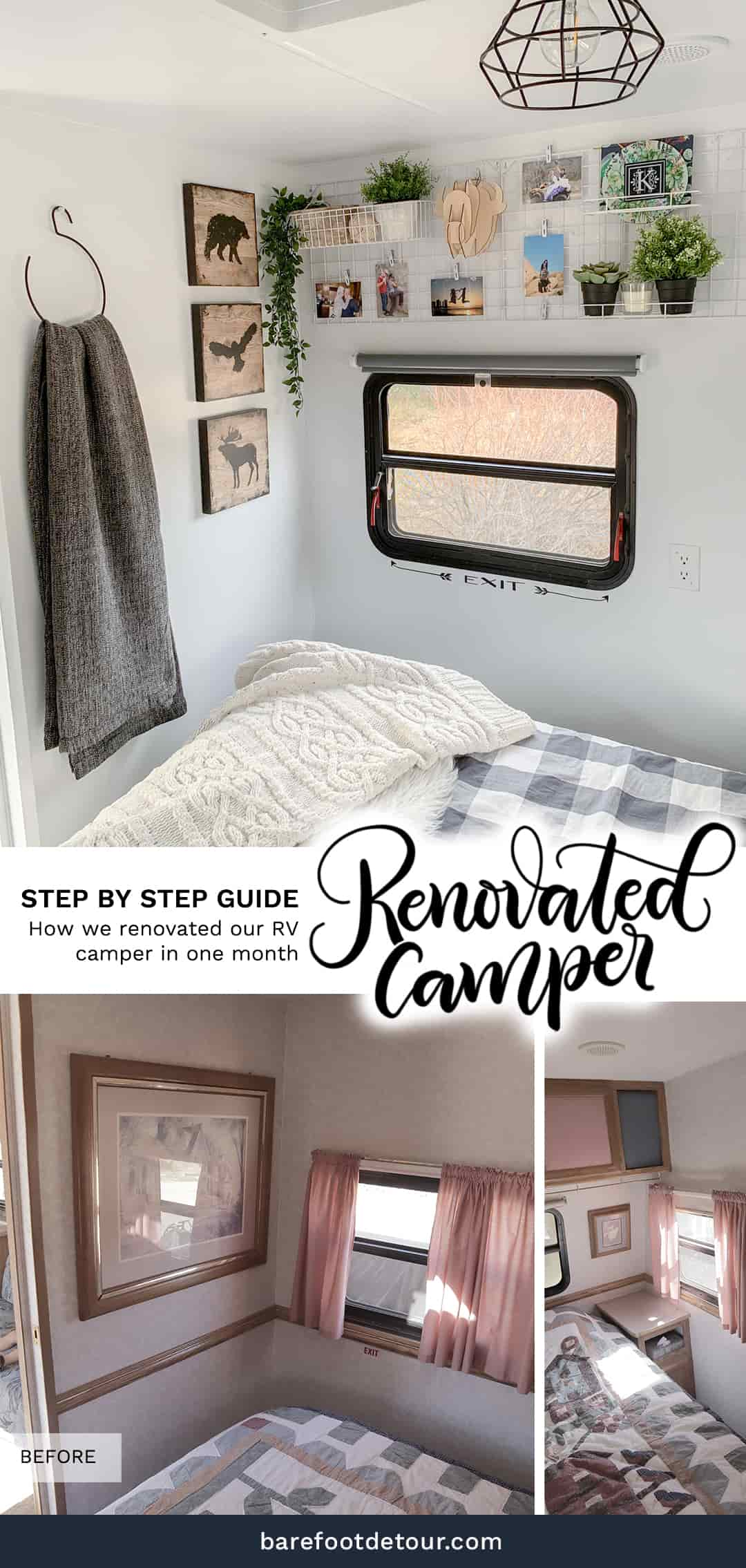 How to renovate a camper