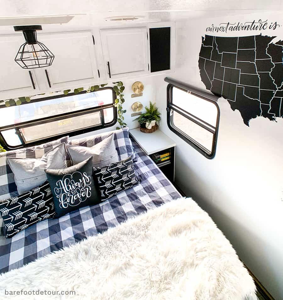rv bedroom map