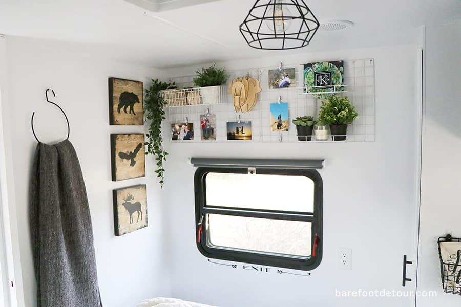 bedroom organization walls