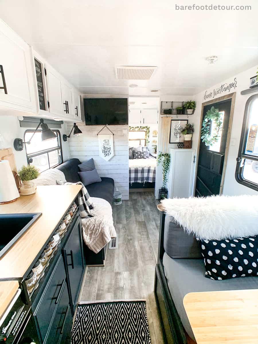 rv modern renovation camper