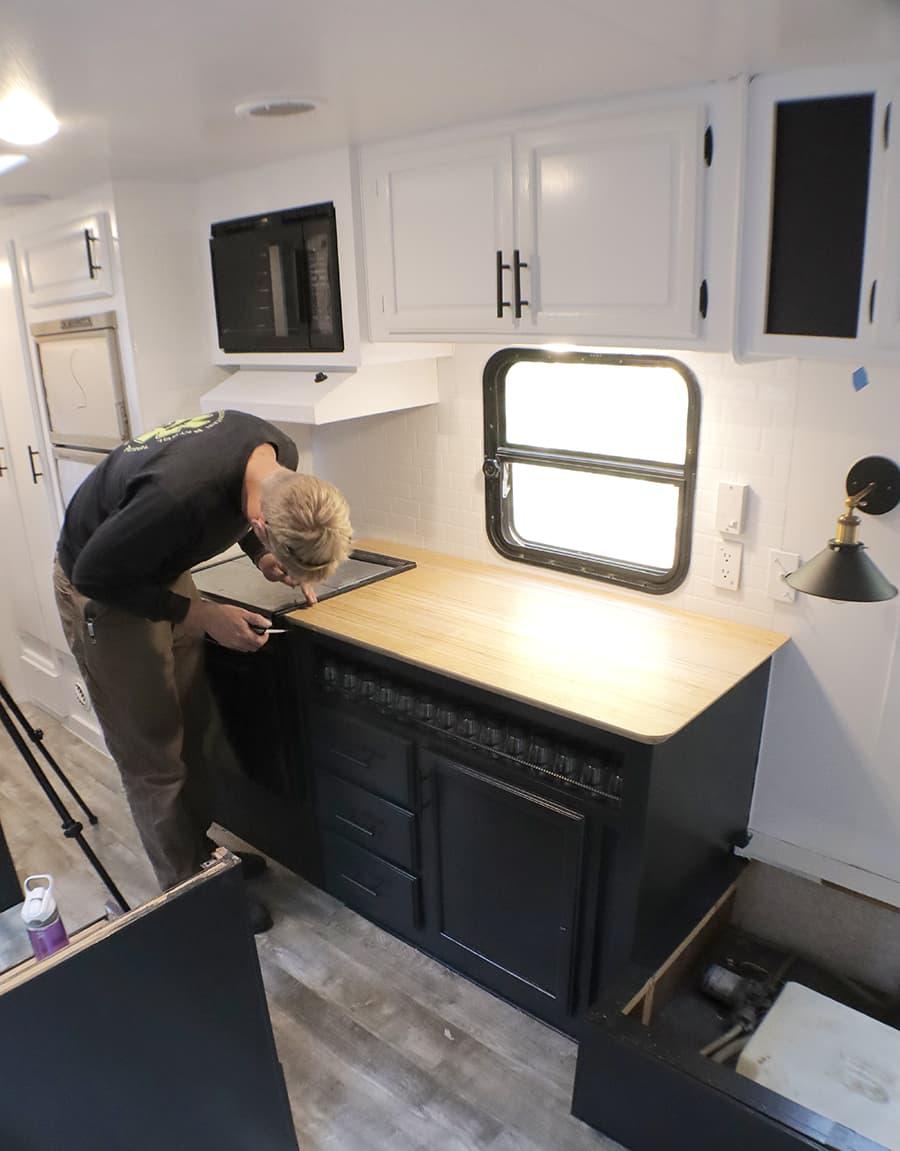 rv countertop renovation