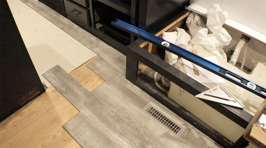 rv flooring installation