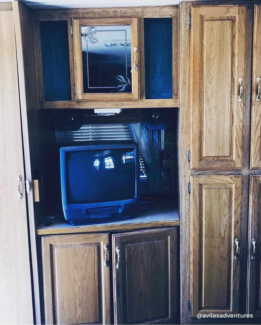 RV office inspiration before