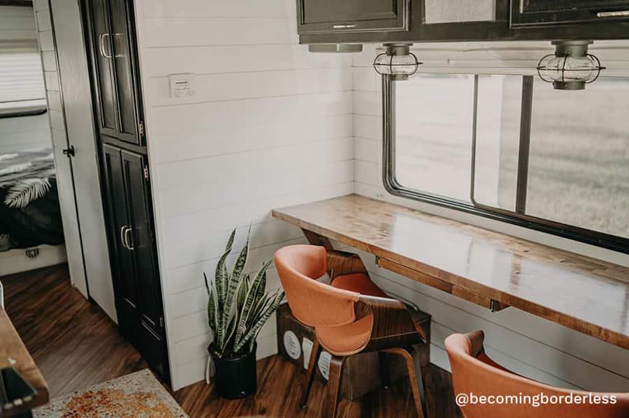 modern desk dinner table