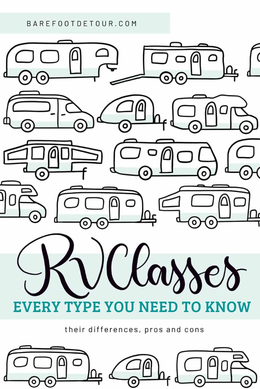 rv classes