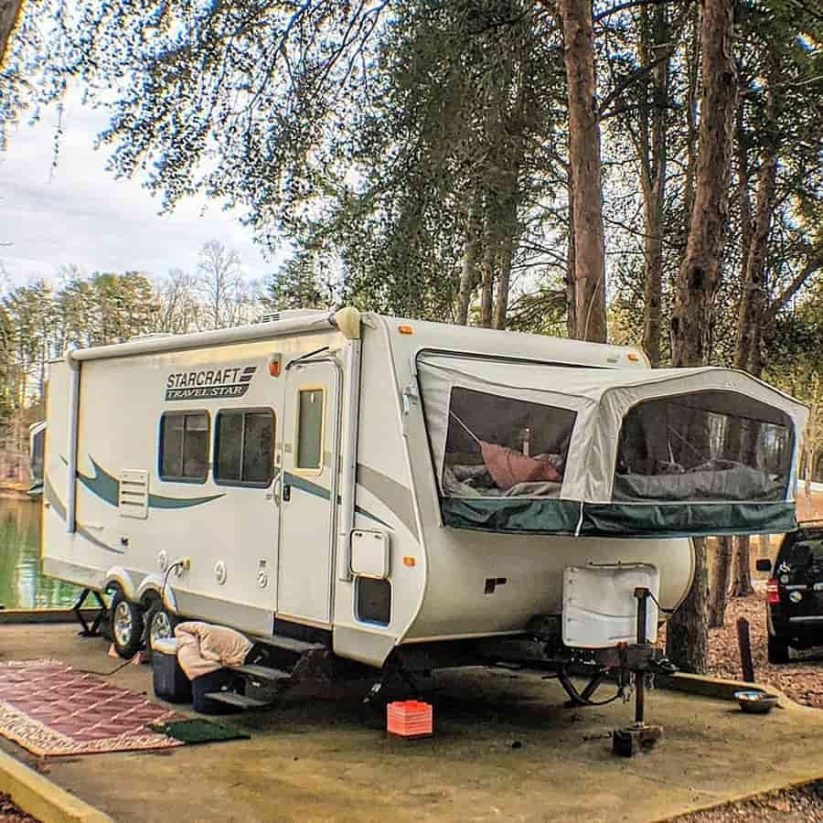rv hybrid camper