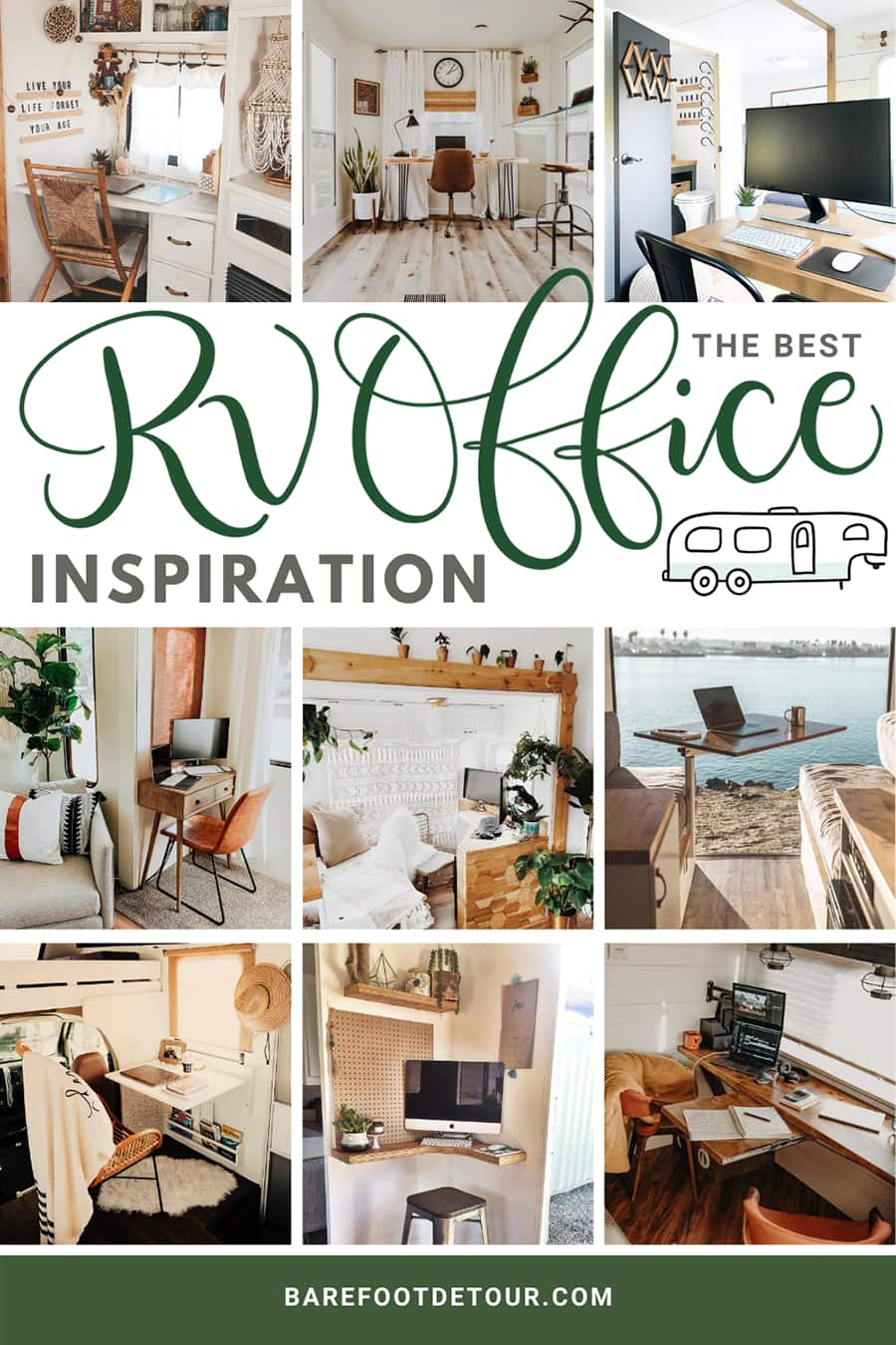 rv office inspiration
