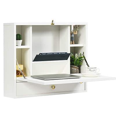 hung wall desk